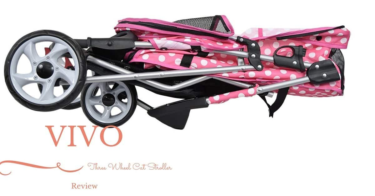 VIVO Three Wheel Cat Stroller Review(1)