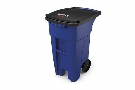 Rolling Cat Proof Trash Can from Rubbermaid