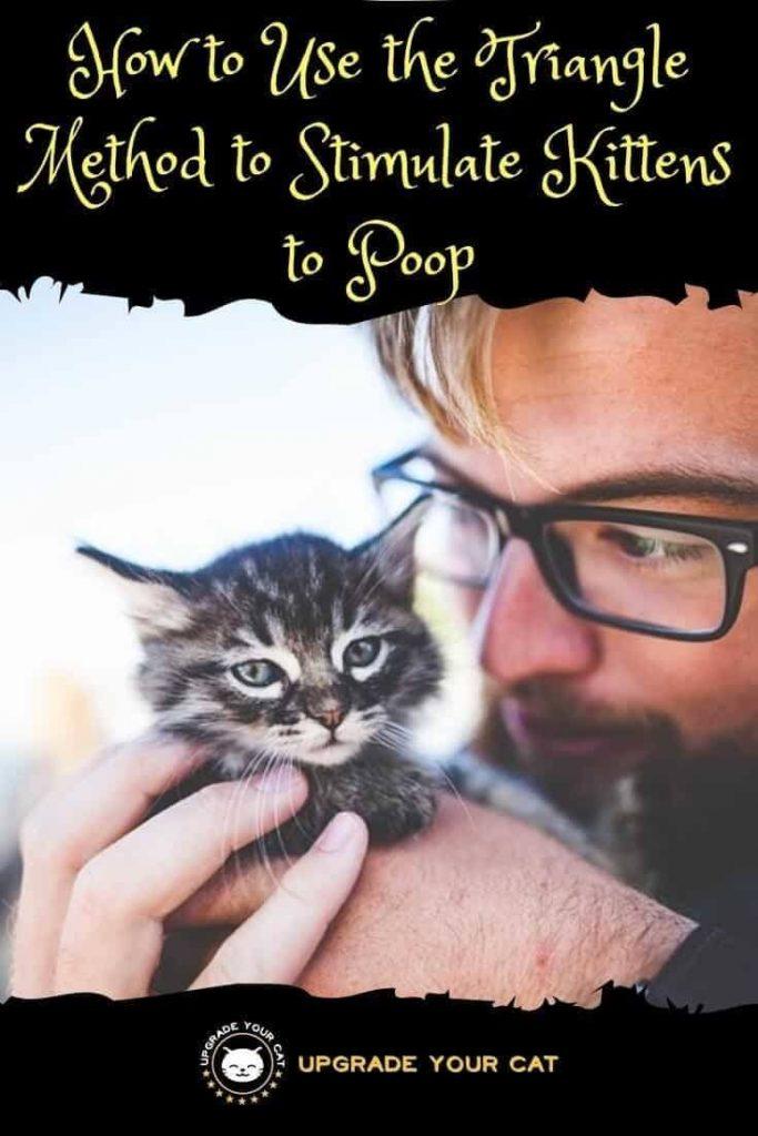 Triangle Method Kitten Poop